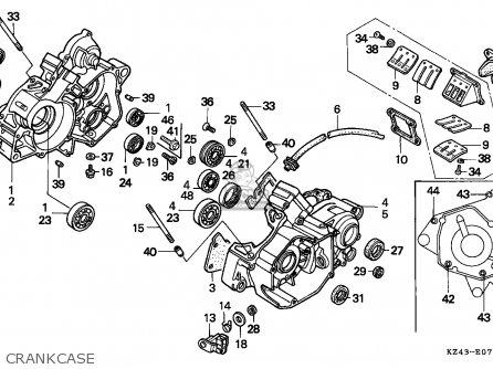 honda cr125r 1993 p canada cmf parts lists and schematics rh cmsnl com 2004 cr125 engine diagram 2001 cr125 engine diagram