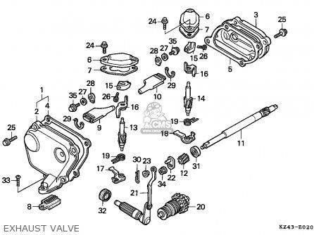 honda cr125r 1994 r australia parts lists and schematics rh cmsnl com 2000 cr125 engine diagram 1997 cr125r engine diagram