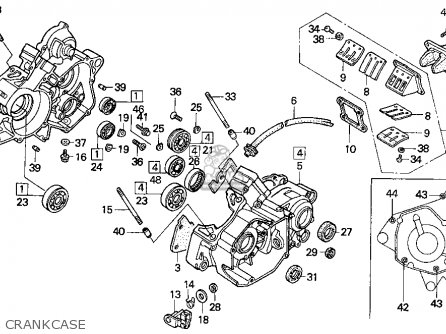 Honda CR125R 1994 (R) USA parts lists and schematics on gmc fuse box diagrams, internet of things diagrams, series and parallel circuits diagrams, motor diagrams, electronic circuit diagrams, sincgars radio configurations diagrams, electrical diagrams, led circuit diagrams, pinout diagrams, friendship bracelet diagrams, battery diagrams, smart car diagrams, lighting diagrams, engine diagrams, transformer diagrams, troubleshooting diagrams, honda motorcycle repair diagrams, hvac diagrams, switch diagrams,