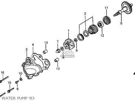 cr125 engine diagram enthusiast wiring diagrams u2022 rh rasalibre co 2016 Honda CR 125 Honda CR 500