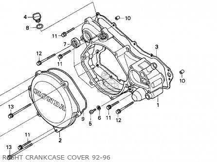 Honda Cr85 Wiring Diagram. . Wiring Diagram on