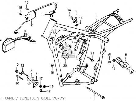 honda crf wiring diagram honda cr250r wiring diagram honda cr250r elsinore 1979 (z) usa parts list partsmanual ...