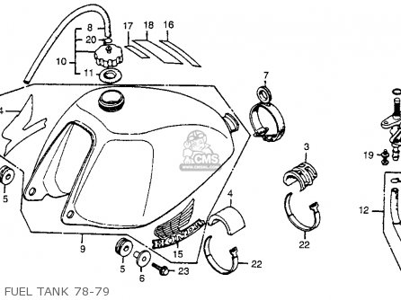 Honda Cr250r Elsinore 1979 Usa on honda qa50 wiring diagram