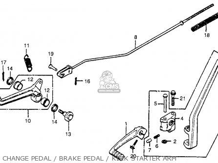 1974 Honda Cr250 Parts Diagram