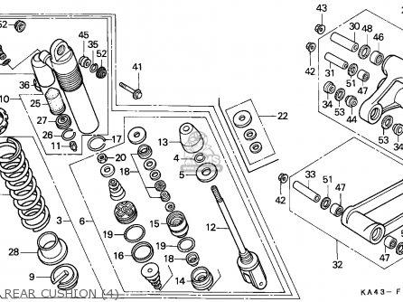 Honda Cr250r Elsinore 1988 J Australia Parts Lists And Schematics