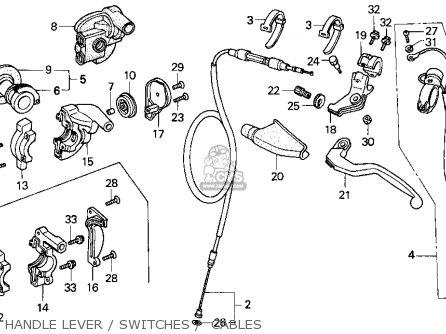 2006 honda foreman wiring diagram honda cr250r elsinore 1990 (l) usa parts list partsmanual ... honda cr250r wiring diagram #6