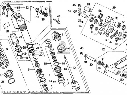 honda cr250r elsinore 1994 r usa parts lists and schematics. Black Bedroom Furniture Sets. Home Design Ideas