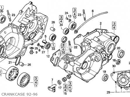 Honda 250 Engine Diagram