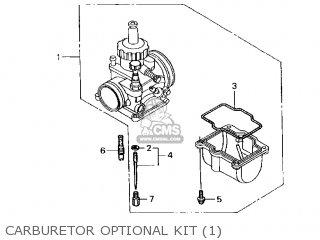 Honda Cr250r Elsinore 2000 y Usa Carburetor Optional Kit 1