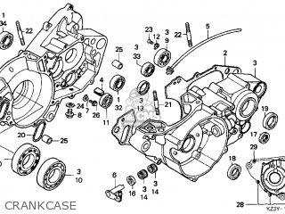 Honda Cr250r Elsinore 2000 y Usa Crankcase
