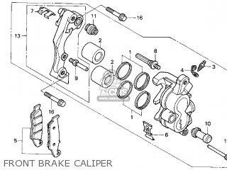 Honda Cr250r Elsinore 2000 y Usa Front Brake Caliper