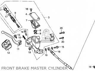 Honda Cr250r Elsinore 2000 y Usa Front Brake Master Cylinder