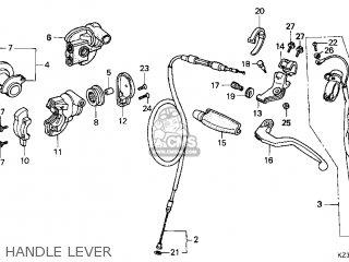 Honda Cr250r Elsinore 2000 y Usa Handle Lever