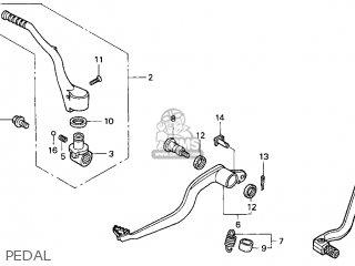 Honda Cr250r Elsinore 2000 y Usa Pedal