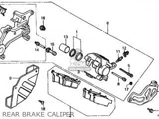 Honda Cr250r Elsinore 2000 y Usa Rear Brake Caliper