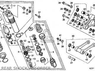 Honda Cr250r Elsinore 2000 y Usa Rear Shock Absorber