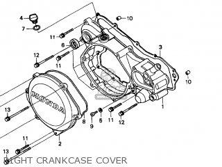Honda Cr250r Elsinore 2000 y Usa Right Crankcase Cover