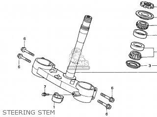 Honda Cr250r Elsinore 2000 y Usa Steering Stem