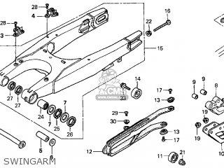 Honda Cr250r Elsinore 2000 y Usa Swingarm