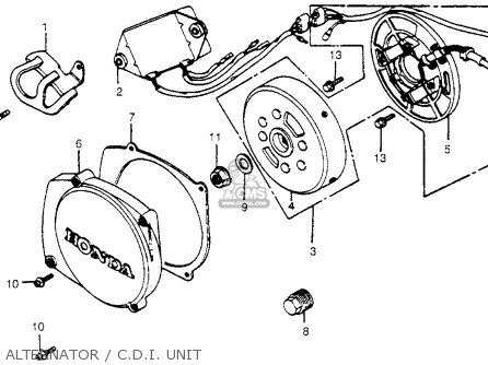 Honda Cr450r Elsinore 1981 b Usa Alternator   C d i  Unit