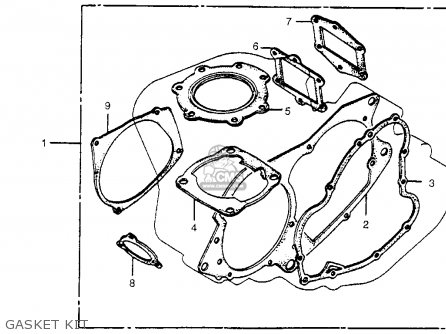 Honda Cr480r 1982 Usa Gasket Kit