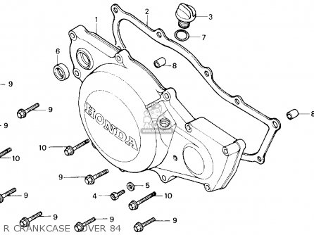 Honda Cr500r 1984 E Usa Parts Lists And Schematics