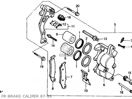 Honda Cr500r 1988 J Usa Parts Lists And Schematics