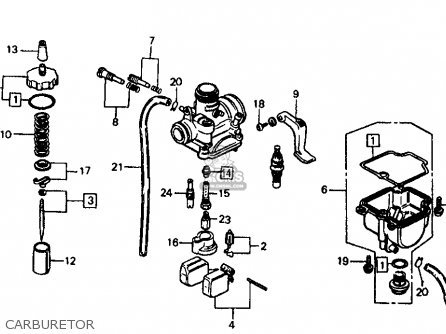 Wiring Diagram For Honda Sl100 on honda s90 wiring harness