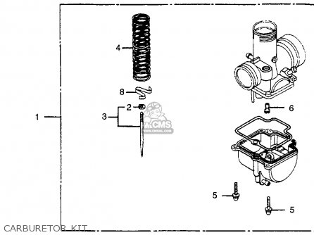 honda cr80r 1984 e usa parts lists and schematics rh cmsnl com Basic Electrical Schematic Diagrams Residential Electrical Wiring Diagrams