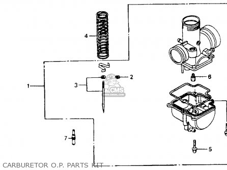 honda cr80r 1991 m usa parts lists and schematics rh cmsnl com Simple Wiring Diagrams Basic Electrical Schematic Diagrams