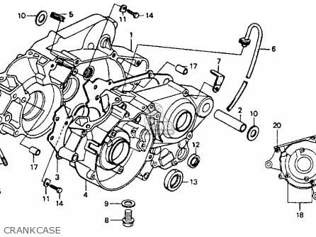 Vespa Px150 Battery Wiring And Starting System Circuit likewise Honda Xr200 Engine Diagram besides 1986 Honda Vt500c Shadow Wiring Diagram further Gl1100 Carburetor Diagram together with Honda Magna Usa Clutch Master Cylinder Schematic. on honda magna wiring diagram