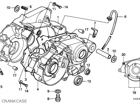 wiring diagram honda crf l diagrams