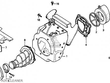 honda cr80 carburetor diagram
