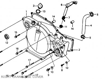 Honda Xr250r 1988 Usa Parts Lists