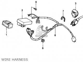 honda crf100f 2005 5 usa parts lists and schematics rh cmsnl com Honda Motorcycle Wiring Color Codes Honda Accord Wiring Harness Diagram