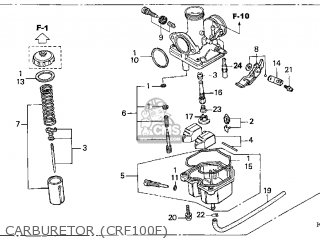 honda crf100f 2006 6 usa parts lists and schematics rh cmsnl com Honda Motorcycle Wiring Color Codes 2012 Honda Civic Transmission Wire Diagram