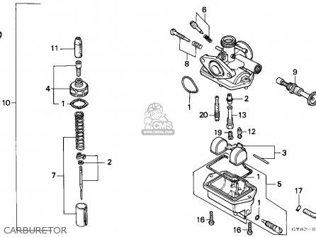 Honda Crm75r 1989 k Spain Carburetor