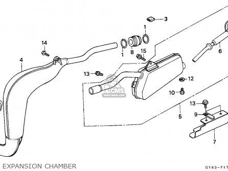Honda Crm75r 1989 k Spain Expansion Chamber
