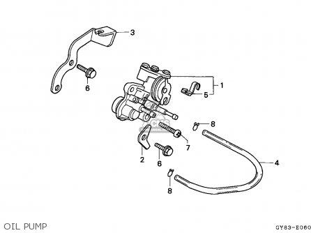 Honda Crm75r 1989 k Spain Oil Pump