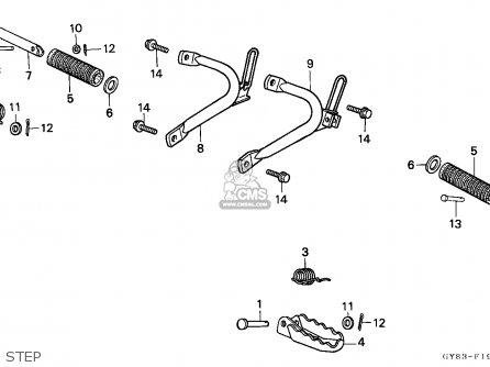 Honda Crm75r 1989 k Spain Step