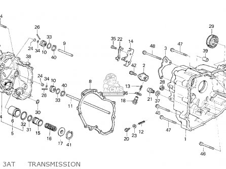 Honda Crx 1985 F 2dr Dx Kakl Parts Lists And Schematics. Honda Crx 1985 F 2dr Dx Kakl 3at Transmission. Honda. Honda Crx Suspension Schematic At Scoala.co