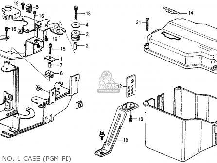 Honda Crx 1985 F 2dr Si Kakl Parts Lists And Schematics