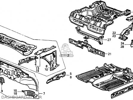 91 Honda Crx Si Engine Diagram