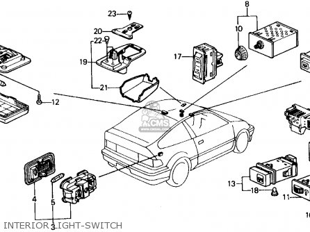 1993 Civic Ignition Switch Wiring Diagram
