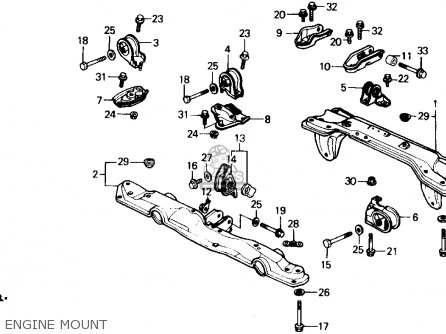 1990 Honda Civic Si Fuse Box Diagram