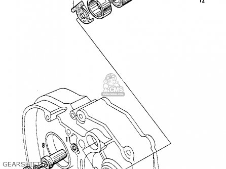 Honda Ct200 Trail 1964 Usa Gearshift