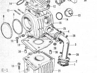 Honda Ct50 E-1