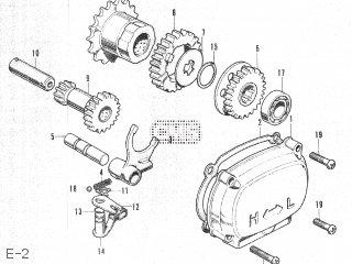 Honda Ct50 E-2