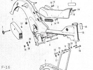 Honda Ct50 F-16