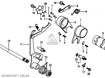 1986 Honda Fourtrax Parts Diagram